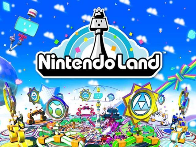 Nintendo Land,F-Zero,Wii Sports
