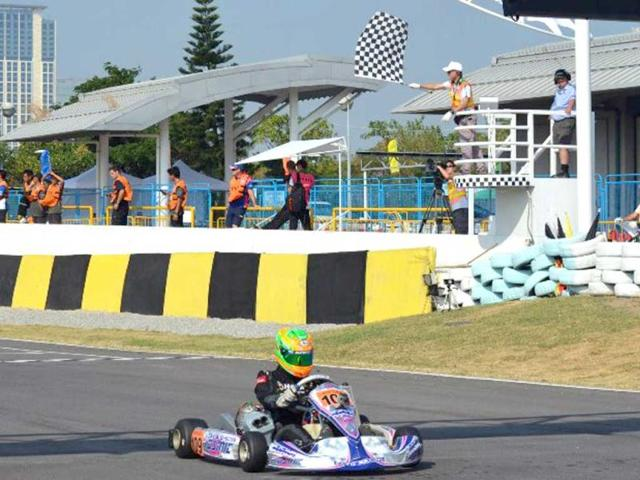 Indian karting drivers