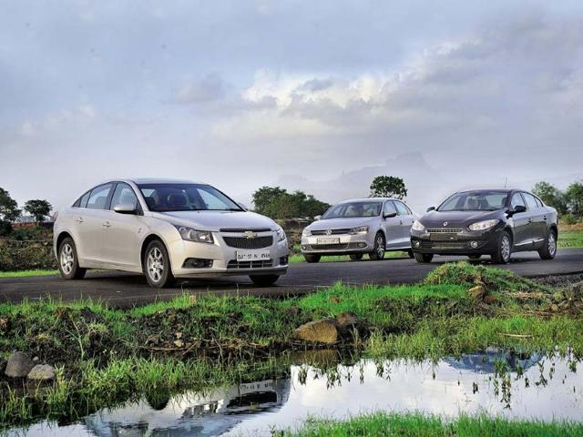 Back for seconds Recent engine updates promise to make the Renault Fluence diesel and Chevrolet Cruze a whole lot better than before. The question is, are they better than the current executive saloon benchmark, the Volkswagen Jetta?