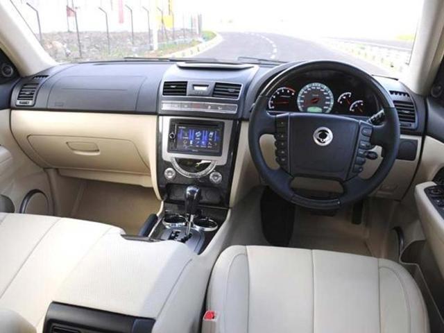 Mahindra SsangYong Rexton test drive