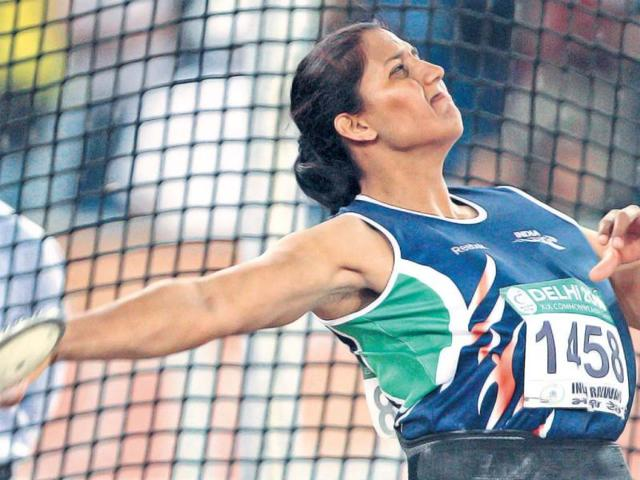 Discus-thrower-Krishna-Poonia-who-finished-seventh-in-London-will-be-39-years-old-in-2016-File-Photo