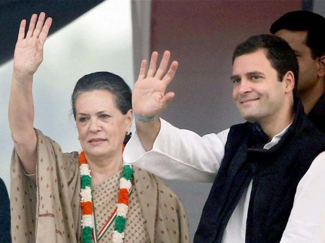 sonia,Rahul,Congress party