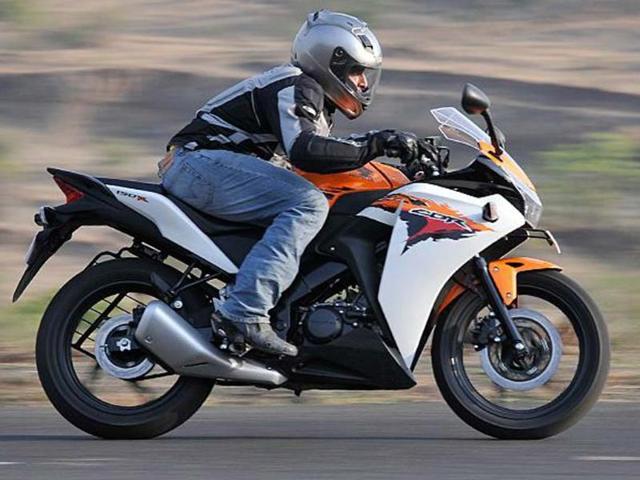 We test ride the smallest Honda CBR yet, the CBR 150R.