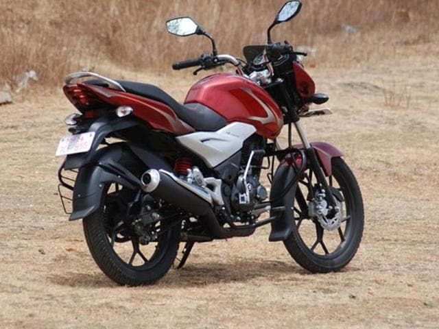 Our first impressions of the new Discover 125ST. It churns out 12.8bhp and comes with a 5-speed gearbox.