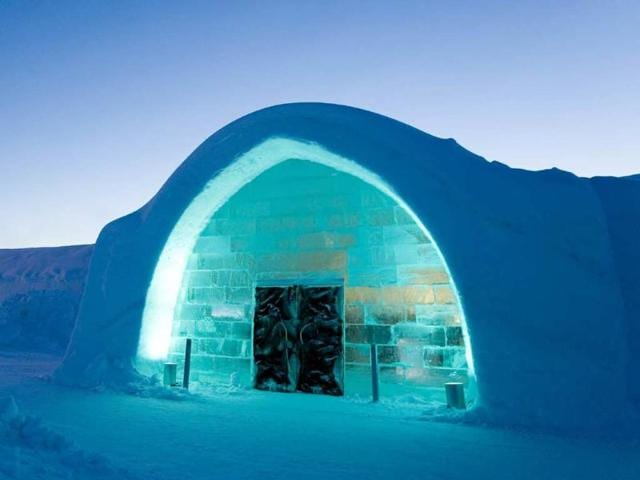 Sweden's Ice hotel offers 'haute couture' suites