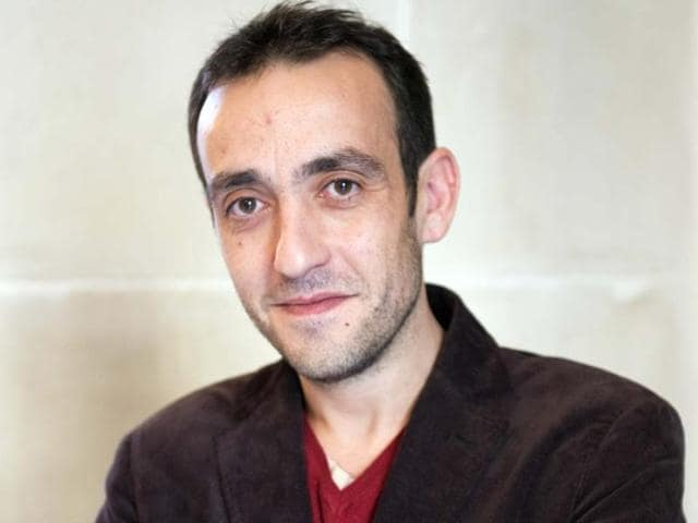 French-writer-Jerome-Ferrari-Photo-AFP-Miguel-Medina