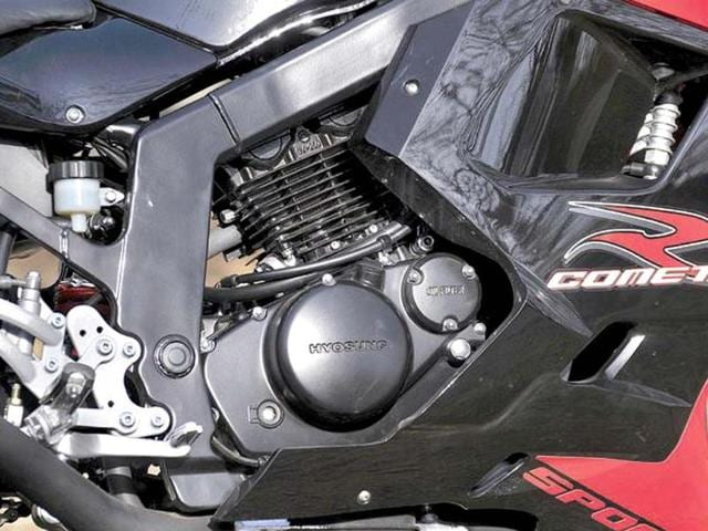 Hyosung GT250R review, test drive
