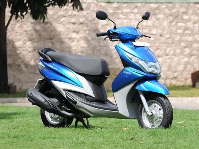 Yamaha Ray test ride