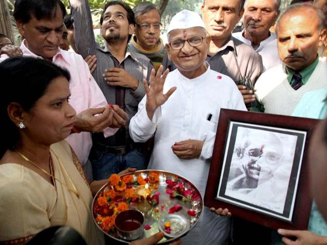 Eminent social activist Anna Hazare, who is admitted to Medanta Medicity Hospital in Gurgaon, is reportedly stable.