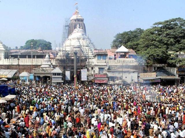 Puri bandh,temple servitors,Brahma Paribartan