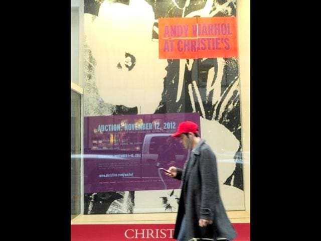 Auction-sale-of-works-by-artist-Andy-Warhol-at-Christie-s-in-New-York-AFP-Photo