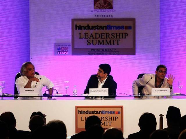 Union-rural-development-minister-Jairam-Ramesh-is-seen-at-Hindustan-Times-Summit-on-Day-1-at-Taj-Palace-in-New-Delhi-HT-Arijit-Sen
