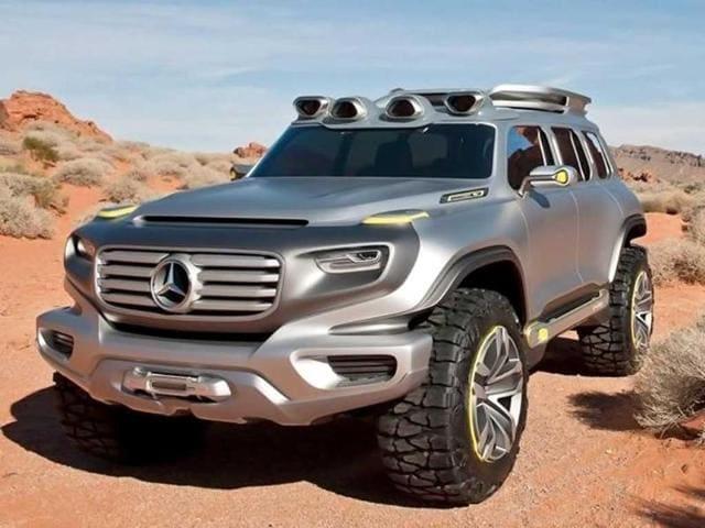 Mercedes-Benz reveals new SUV concept