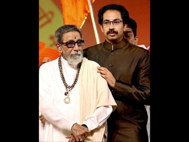 File-photo-Shiv-Sena-supremo-Bal-Thackeray-attends-Maharashtra-Day-celebrations-with-his-son-Uddhav-Thackeray-in-Mumbai-AP