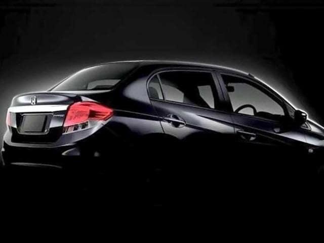 Honda Amaze official teaser.
