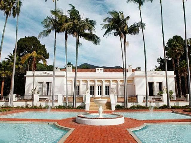 Located-in-Coral-Gables-Florida-in-the-film-the-actual-villa-is-in-fact-in-Santa-Barbara-California-Photo-AFP