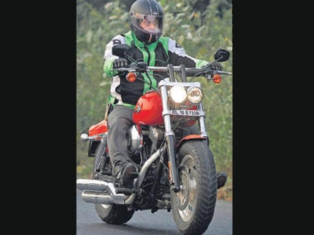 The Fat Bob is a great road on long and curvy roads, so long as traffic doesn't come into play.