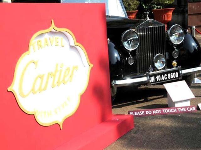 Cartier gives a glimpse of vintage car event to be held in Feb, 2013