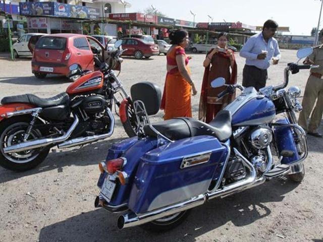 India Bike Week event in Goa, 2nd and 3rd Feb, 2013.