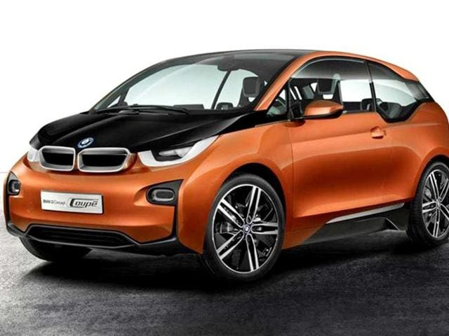 BMW i3 Coupe concept revealed