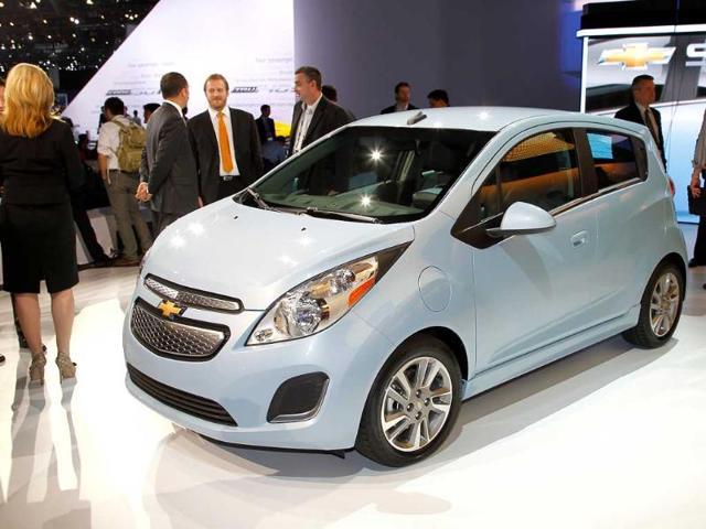 GM's Chevy Spark EV gets double Volt's electric,Chevrolet Spark,plug-in hybrid Volt car