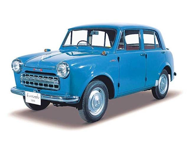 A-Datsun-small-car-of-the-1950s