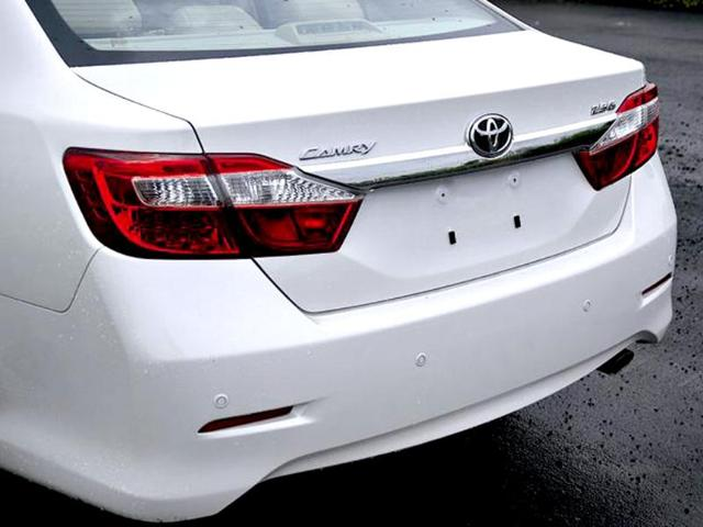 New Toyota Camry review, test drive