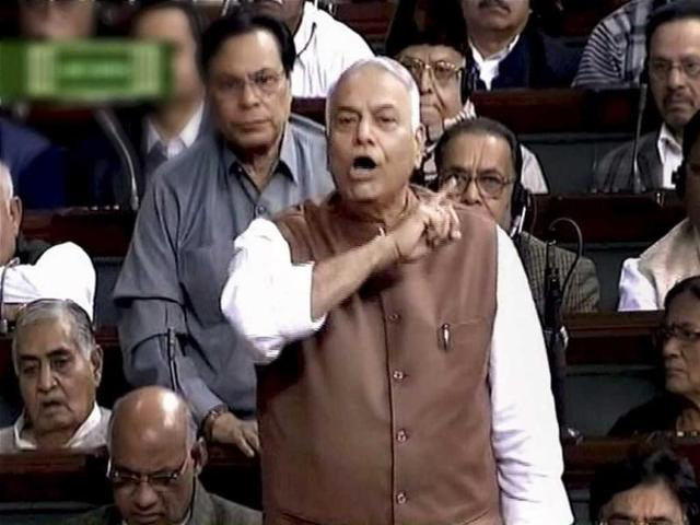 BJP-member-Yashwant-Sinha-speaks-in-the-Lok-Sabha-in-New-Delhi-during-the-ongoing-budget-session-PTI-TV-Grab