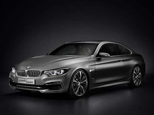 New BMW 4-series coupe concept revealed