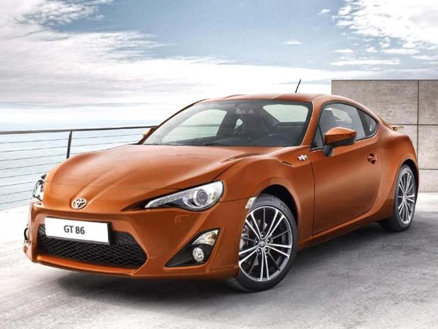 Toyota GT86 named Top Gear Car of the Year 2012