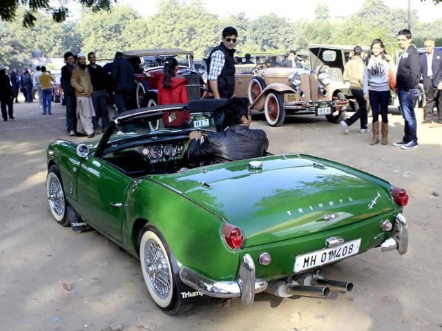 Vintage cars,SAS Nagar,Ludhiana