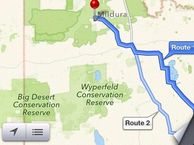 Australia Map Desert.Apple Australia Map Glitch Snakes In The Desert Business