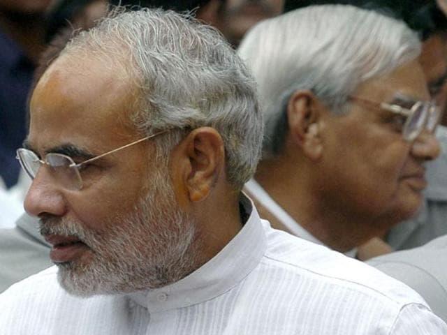 A-file-photo-of-Narendra-Modi-and-Atal-Bihari-VA-file-photo-of-Narendra-Modi-and-Atal-Bihari-Vajpayee-in-Bangalore-AFPajpayee-in-Bangalore-AFP