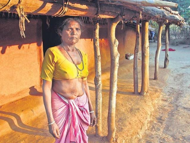 52-year-old-Heru-Panji-from-Chali-village-in-south-eastern-Gujarat-feels-deprived-and-says-people-like-her-have-been-left-out-of-the-state-s-economic-boom-in-recent-times-HT-Arijit-Sen