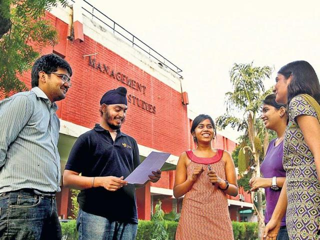 Delhi University,visually impaired students,Information Technology course