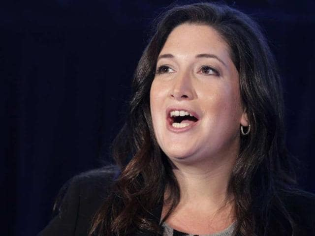FILE-In-this-Oct-4-2011-file-photo-Randi-Zuckerberg-former-marketing-director-of-Facebook-and-founder-of-RtoZ-Media-speaks-at-the-Executive-Marketing-Summit-in-New-York-Photo-AP-Mark-Lennihan-File