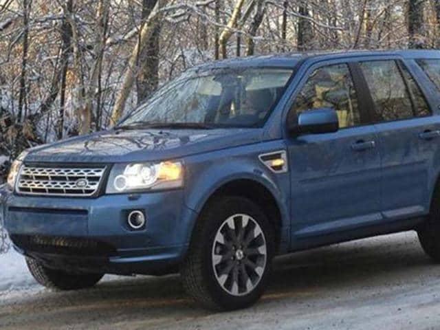 Freelander 2 launched,Jaguar Land Rover