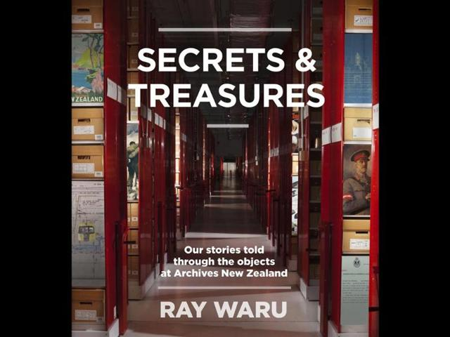 Author-Ray-Waru-said-he-wrote-Secrets-and-Treasures-to-highlight-the-material-publicly-available-at-Archives-New-Zealand-in-Wellington-Photo-AFP