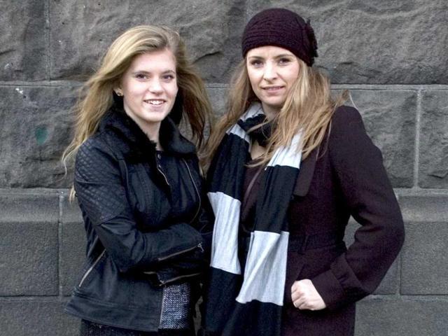 Blaer-Bjarkardottir-L-and-her-mother-Bjork-Eidsdottir-are-photographed-outside-a-court-building-in-Reykjavik-AP-Photo