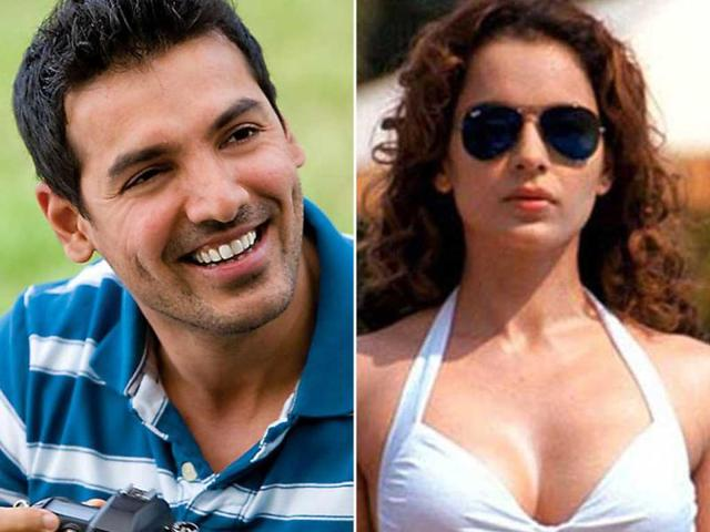 John-with-Kangna-John-Abraham-who-is-portraying-gangster-Manya-Surve-in-Sanjay-Gupta-s-Shootout-at-Wadala-will-be-romancing-Kangna-Ranaut-He-is-also-starring-opposite-Nargis-Fakhri-in-Shoojit-Sircar-s-next-That-s-not-all-he-will-also-be-seen-with-Prachi-Desai-and-Chitrangda-Singh-in-I-Me-aur-Main