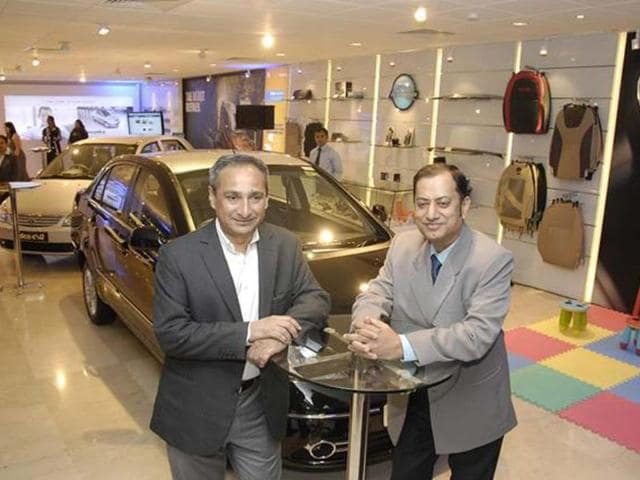 Tata inaugurates flagship showroom