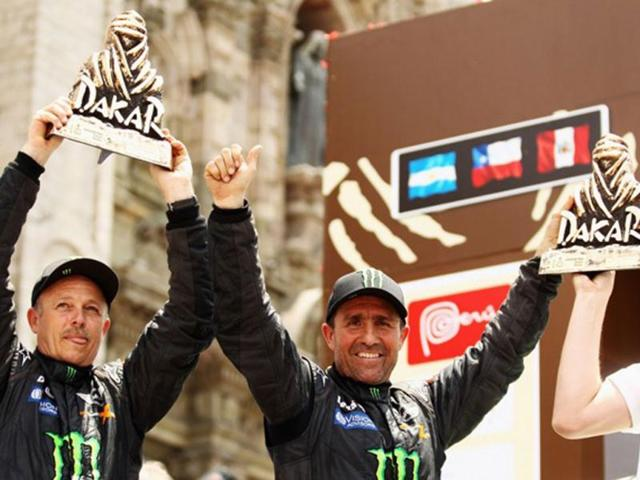 Stephane-Peterhansel-centre-will-return-to-defend-the-Dakar-title-he-won-last-year-behind-the-wheel-of-Team-X-Raid-s-Mini-Countryman-Getty-Images