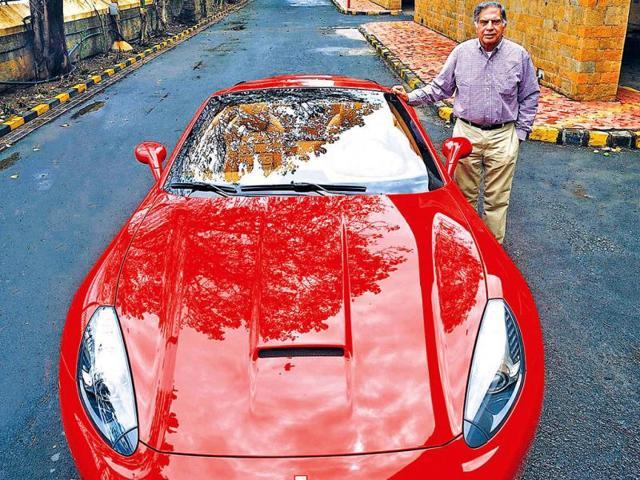 A Joyride With Ratan Tata Business Hindustan Times
