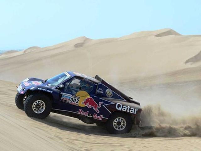 Sainz, Lopez take opening 13km stage of Dakar Rally