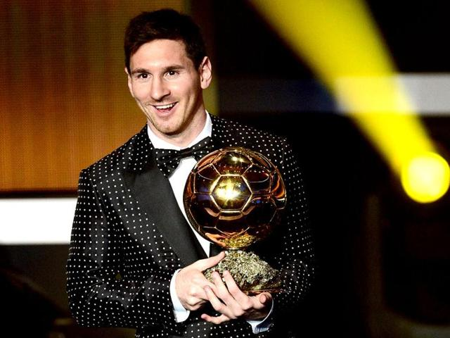 FIFA-Ballon-d-Or-award-winner-Barcelona-s-Argentinian-forward-Lionel-Messi-holds-the-trophy-during-the-FIFA-Ballon-d-Or-awards-ceremony-at-the-Kongresshaus-in-Zurich-AFP-Photo