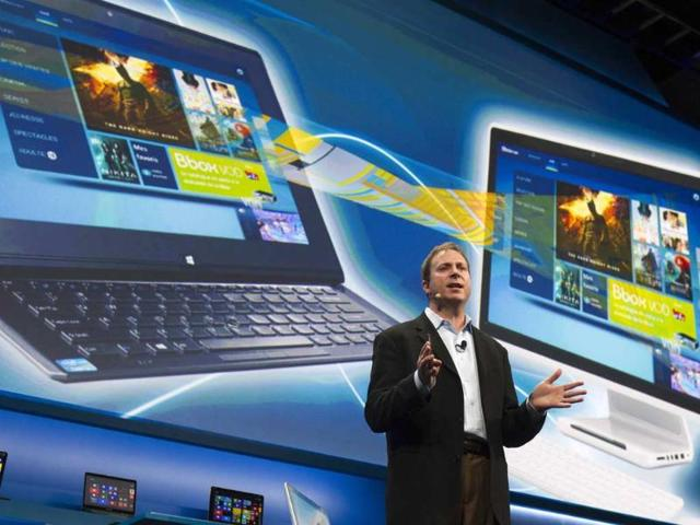 Kirk-Skaugen-vice-president-of-PC-client-group-for-Intel-talks-about-availability-of-live-and-on-demand-pay-TV-content-to-Intel-devices-at-an-Intel-news-conference-during-the-Consumer-Electronics-Show-CES-in-Las-Vegas-January-7-2013-Intel-announced-improvements-to-its-processors-including-one-with-all-day-battery-life-Reuters-Steve-Marcus