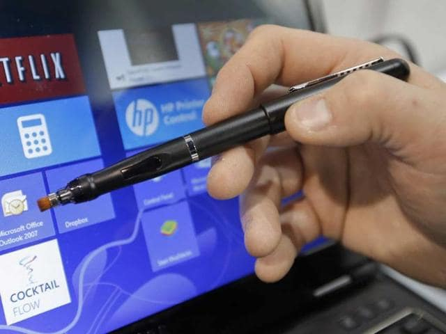 E-Fun-s-Apen-Touch8-pen-is-shown-at-the-International-Consumer-Electronics-Show-in-Las-Vegas-Tuesday-Jan-8-2013-Photo-AP-Jae-C-Hong