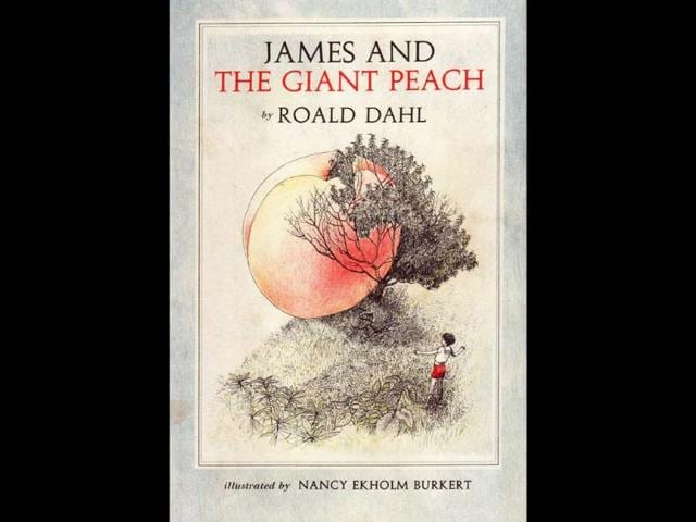 1961-book-cover-of-James-and-the-Giant-Peach-by-Roald-Dahl-Photo-AFP