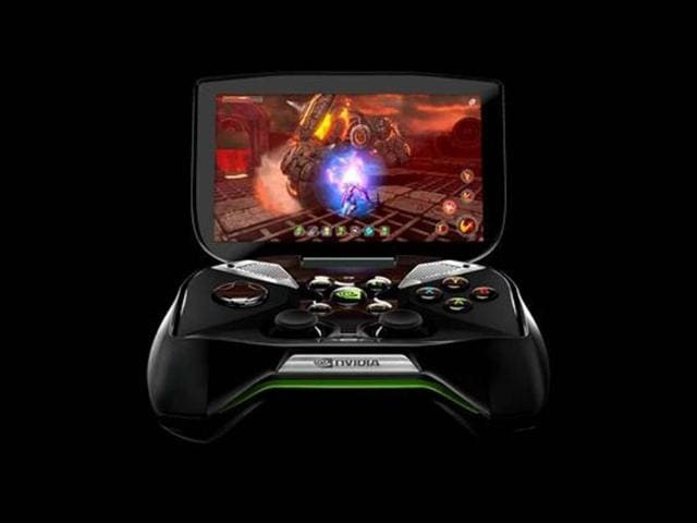 Despite-a-shift-to-cloud-gaming-new-consoles-are-being-introduced-Nvidia-s-just-unveiled-console-Project-Shield-can-download-games-from-the-Google-Play-store-or-Nvidia-s-TegraZone-and-also-has-PC-streaming-capabilities-Photo-AFP