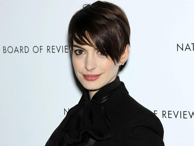 Anne Hathaway has been nominated for best supporting actress for her role in Les Miserables. AP Photo/Starpix